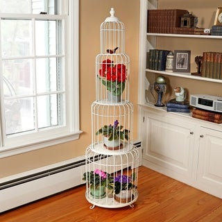 56 Inch Metal Bird cage Stacked Rack