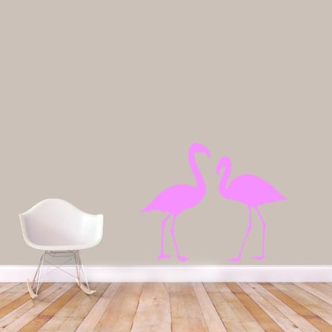 Flamingos Wall Decal Set