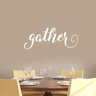 Gather Wall Decal