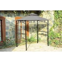 Sunjoy Replacement Canopy set for L-GG034PST 8X5 Grill Gazebo
