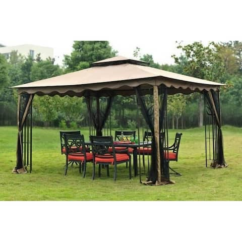 Sunjoy Replacement Canopy Set for L-GZ043PST-3 10X12 GAZEBO
