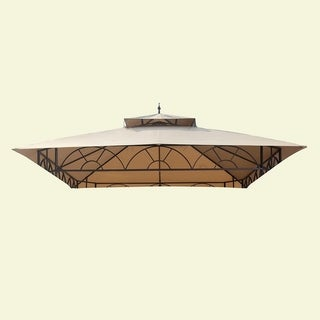 Sunjoy Replacement Canopy Set for Gazebo Model L-GZ027PWI-3A (As Is Item)