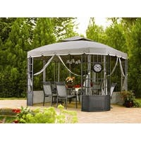 Sunjoy Replacement Canopy Set(09 Fall) for L-GZ120PST-2 Bay Window Gazebo