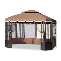 Sunjoy Replacement Mosquito Netting (09 Spring) for L-GZ120PST-2 Bay Window Gazebo