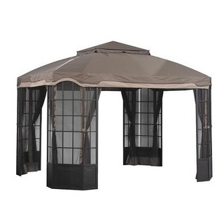 Sunjoy Replacement Mosquito Netting for L-GZ120PST-2D Bay Window Gazebo