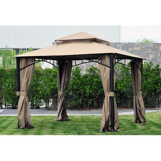 Shop Sunjoy Replacement Curtain for L-GZ136PST-9 HAVANA GAZEBO - Free Shipping Today - Overstock - 20749022  sc 1 st  Overstock.com & Shop Sunjoy Replacement Curtain for L-GZ136PST-9 HAVANA GAZEBO ...