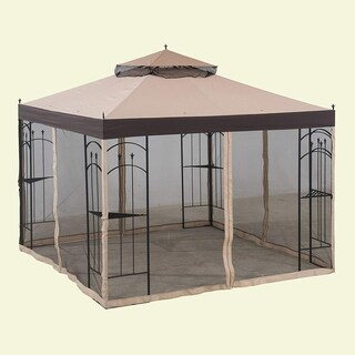 Sunjoy Replacement Mosquito Netting for L-GZ038PST-3 Arrow Gazebo
