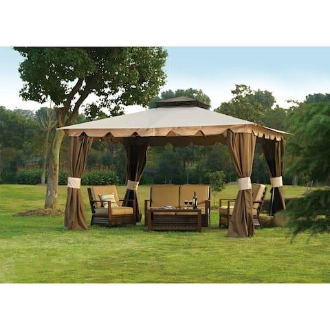 Sunjoy Replacement Canopy Set For L Gz215pst 5b 10x12 Hampton Gazebo
