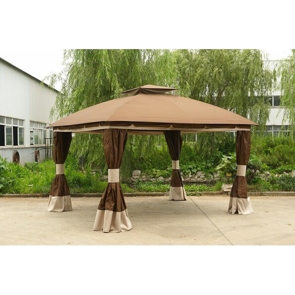 Sunjoy Replacement Canopy Set For L Gz215pst 4b 10x12 Healdsburg Gazebo