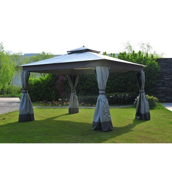 225 & Sunjoy Replacement Mosquito Netting for L-GZ472PST-I 10X12 EASY UP GAZEBO
