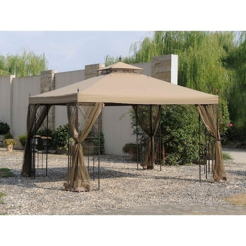 Sunjoy Replacement Canopy set for L-GZ288PST-4H 10X12 Parlay Gazebo