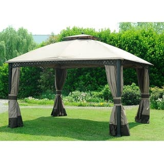 buy gazebos pergolas online at overstock our best. Black Bedroom Furniture Sets. Home Design Ideas