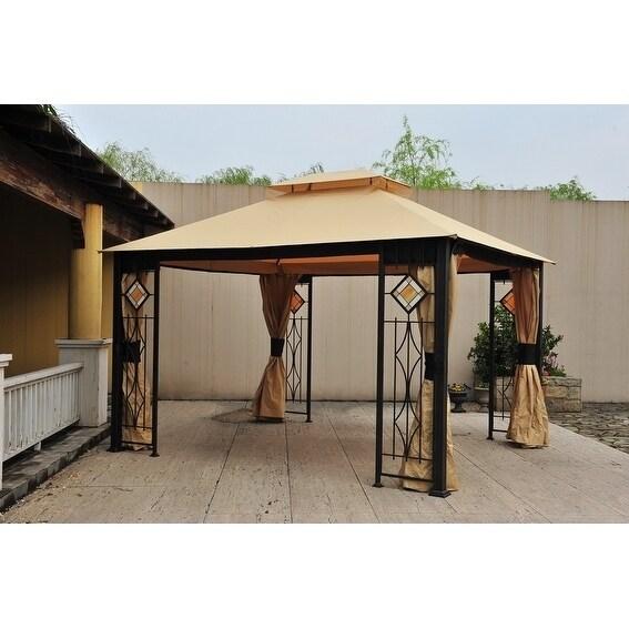 Sunjoy Replacement Canopy Set For L Gz694pst E Art Gl Gazebo