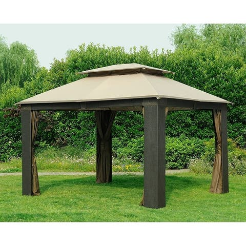Sunjoy Replacement Canopy Set for Gazebo Model L-GZ806PAL-C