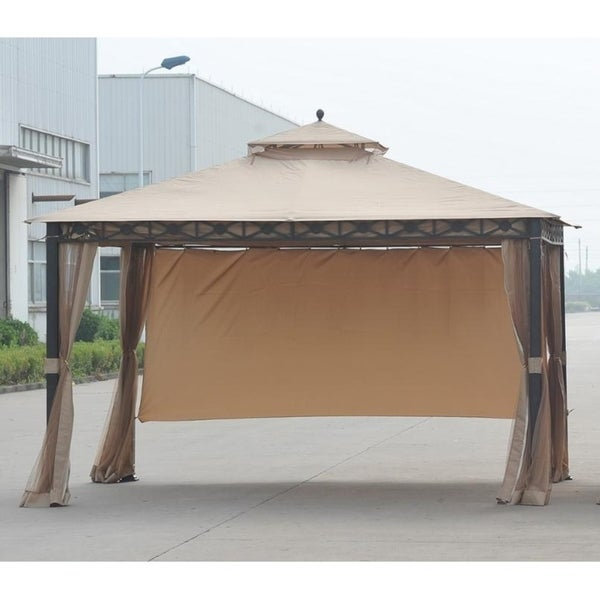 Shop Sunjoy Replacement Canopy Set (Deluxe) For L-GZ425PST