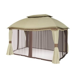 Sunjoy Replacement Mosquito Netting for L-GZ822PCO 10X13 Domed Gazebo