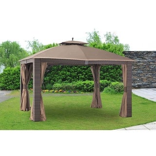 Sunjoy Replacement Mosquito Netting for L-GZ815PST-1 10X12 SONOMA RESIN WICKER GAZEBO