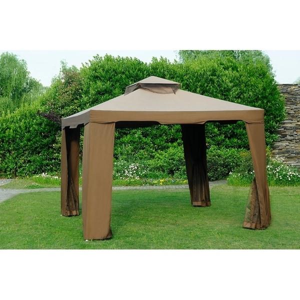 Shop Sunjoy Replacement Canopy Set For L Gz816pst 10x10