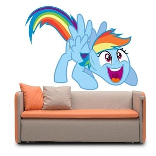 """Little Pony Full Color Wall Decal Sticker AN-485 FRST Size 20""""x31"""""""