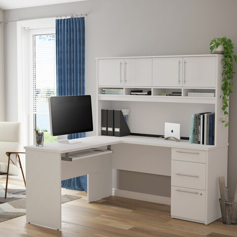 Bestar Innova Plus L-Shaped Desk