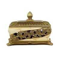D'Lusso Designs Candida Collection Large Jewelry Box