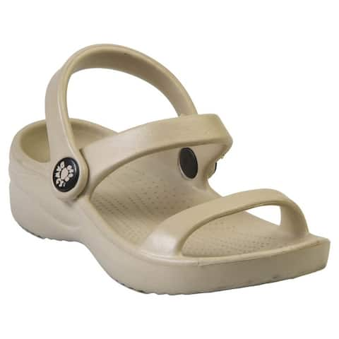 Kids' Dawgs 3-Strap Sandals