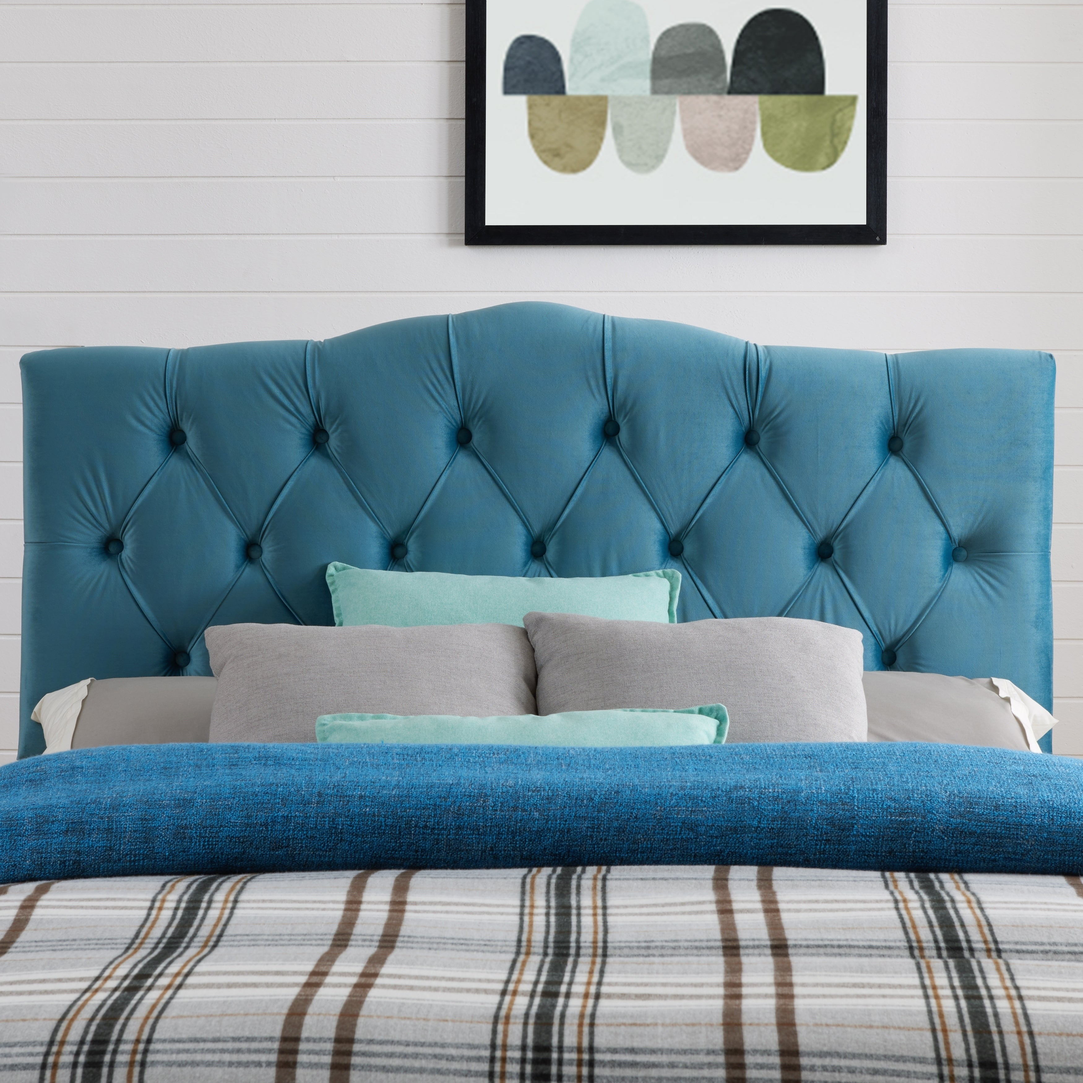 mystere peacock teal home depot headboard the p king headboards blue beds upholstered bed willow