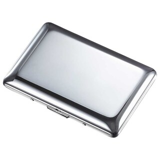 Visol Avery Polished Chrome Business Card Holder