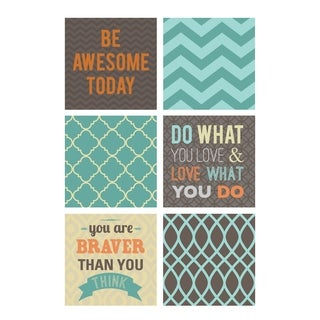 Be Awesome Today Decal - Set of 6