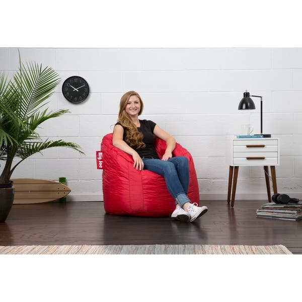 Surprising Shop Big Joe Lumin Bean Bag Chair Multiple Colors On Sale Theyellowbook Wood Chair Design Ideas Theyellowbookinfo