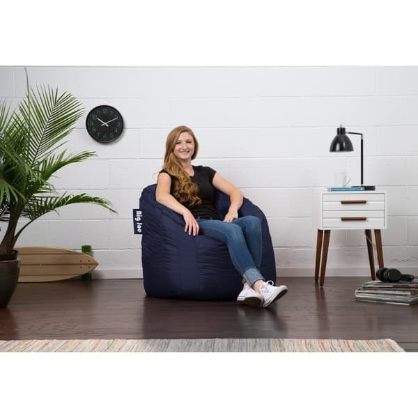 Pleasing Shop Big Joe Lumin Bean Bag Chair Multiple Colors On Sale Squirreltailoven Fun Painted Chair Ideas Images Squirreltailovenorg