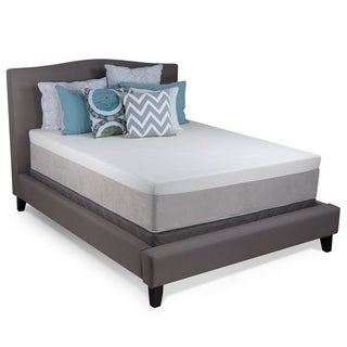 Select Luxury Ultra Plush 13-inch California King-Size Cool Gel Memory Foam Mattress