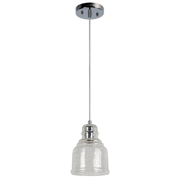 Palmi Collection 1-Light Chrome Pendant