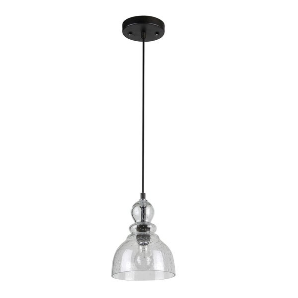 Tacoma 1-Light Antique Brown Pendant Fixture