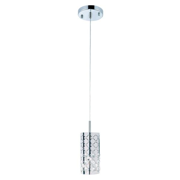 Marsala Collection 1-Light Chrome Pendant