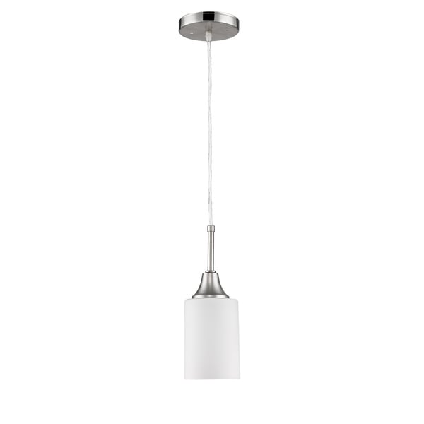 Vitoria 1-Light Satin Nickel Pendant