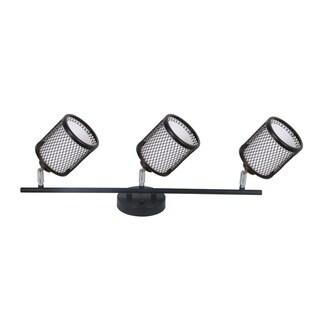 Vieste Collection 1.9 ft 3-Lights Satin Nickel Track Lighting Kit