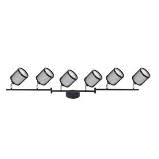 Vieste Collection 3.9 ft 6-Lights Satin Nickel Track Lighting Kit