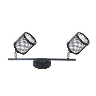 Vieste 1.4ft. 2-Lights Satin Nickel Track Lighting Kit