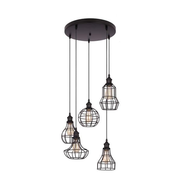 Lancy Collection 5-Light Black Pendant