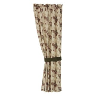 HiEnd Accents Forest Pine Curtain, 48x84