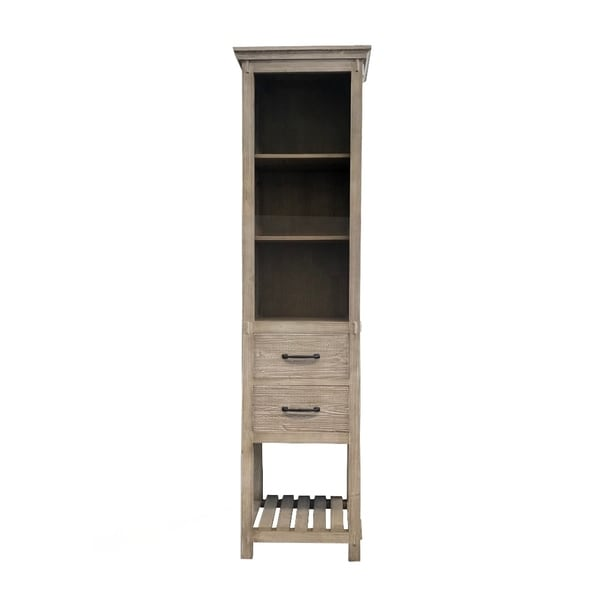"""79""""Rustic Solid Fir Side Cabinet"""