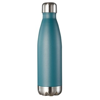 Visol Marina Double Wall 16 oz Water Bottle - Turquoise Blue