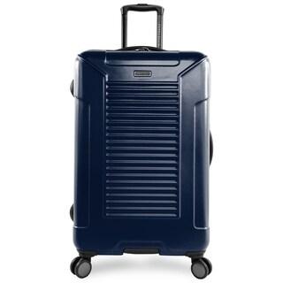 Perry Ellis Nova 29-inch Hardside Spinner Suitcase, Navy