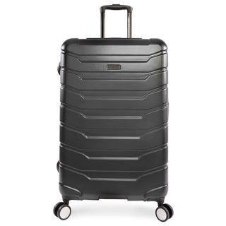 Perry Ellis Traction 29-inch Hardside Spinner Suitcase, Charcoal