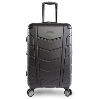 Perry Ellis Tanner 29-Inch Hardside Spinner Suitcase, Charcoal