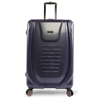 Perry Ellis Bauer 29-inch Hardside Spinner Suitcase, Navy