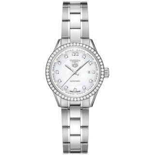 Tag Heuer Women's WV2413.BA0793 'Carrera' Diamond Automatic Stainless Steel Watch