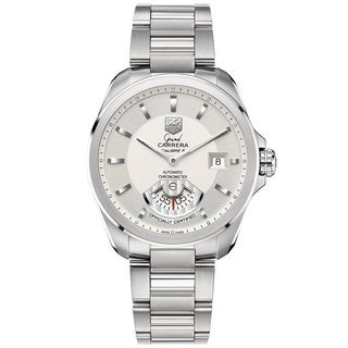Tag Heuer Men's WAV511B.BA0900 'Grand Carrera' Automatic Stainless Steel Watch