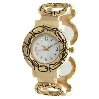 Olivia Pratt Women's Infinity Cuff Watch - N/A